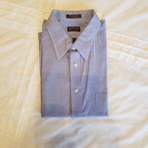 ARROW l/s Dress Shirt - Blue - 18  36/37